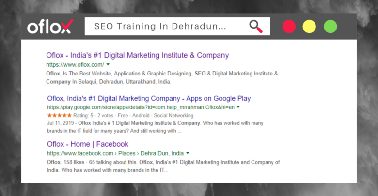 SEO Training In Dehradun