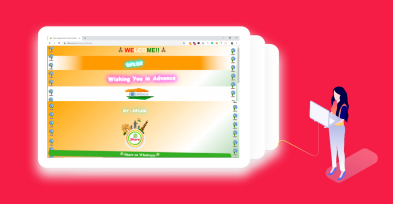 Independence Day WhatsApp Wishing Script Free Download