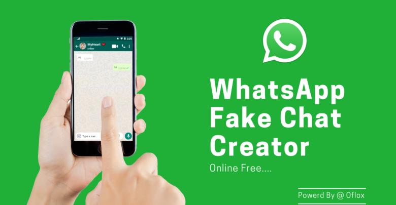Fake WhatsApp Chat Creator Online Free