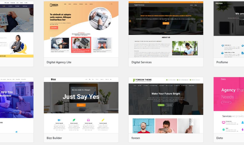 Digital Marketing WordPress Theme Free Download