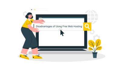 Disadvantages of Using Free Web Hosting