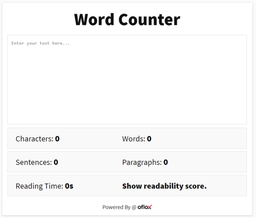 How To Make A Word Counter
