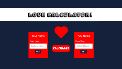Love Calculator Fake Prank Script Free Download