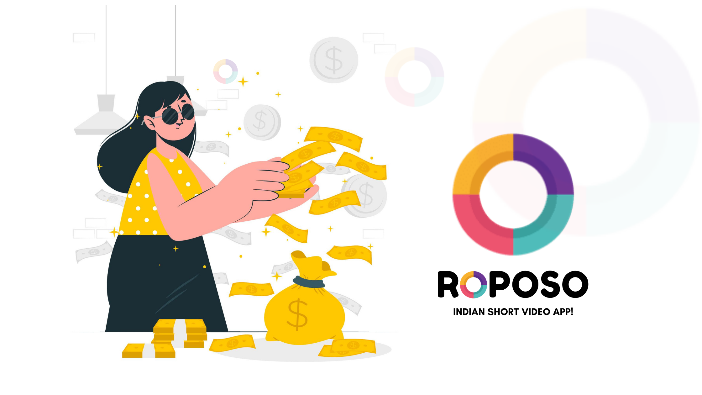 How To Earn Money From Roposo App