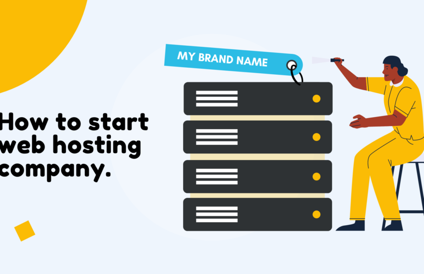 How To Start Web Hosting Company In India