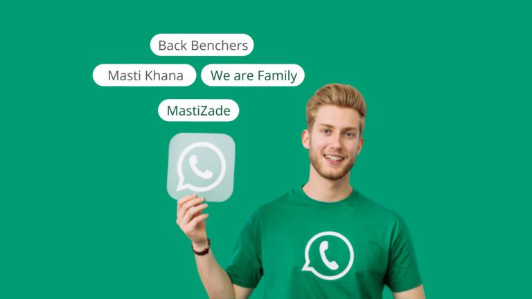 WhatsApp Group Name