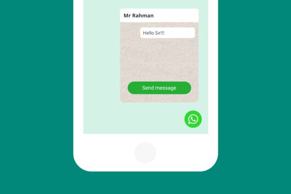 WhatsApp Button HTML Code
