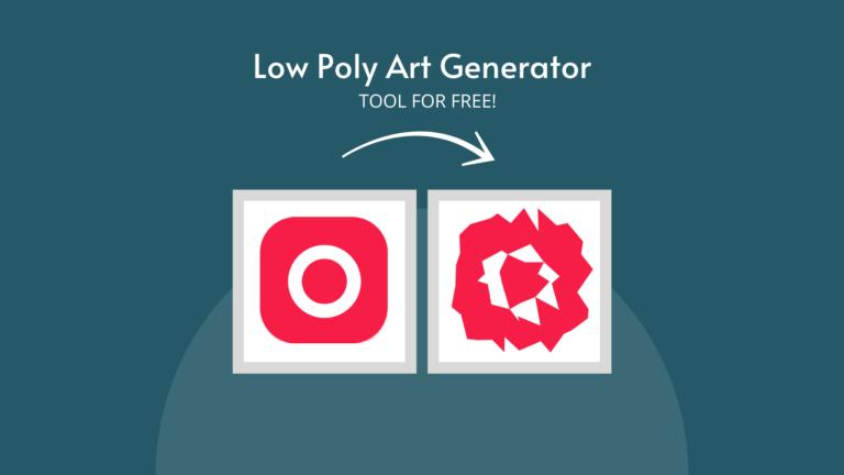 Low Poly Art Generator