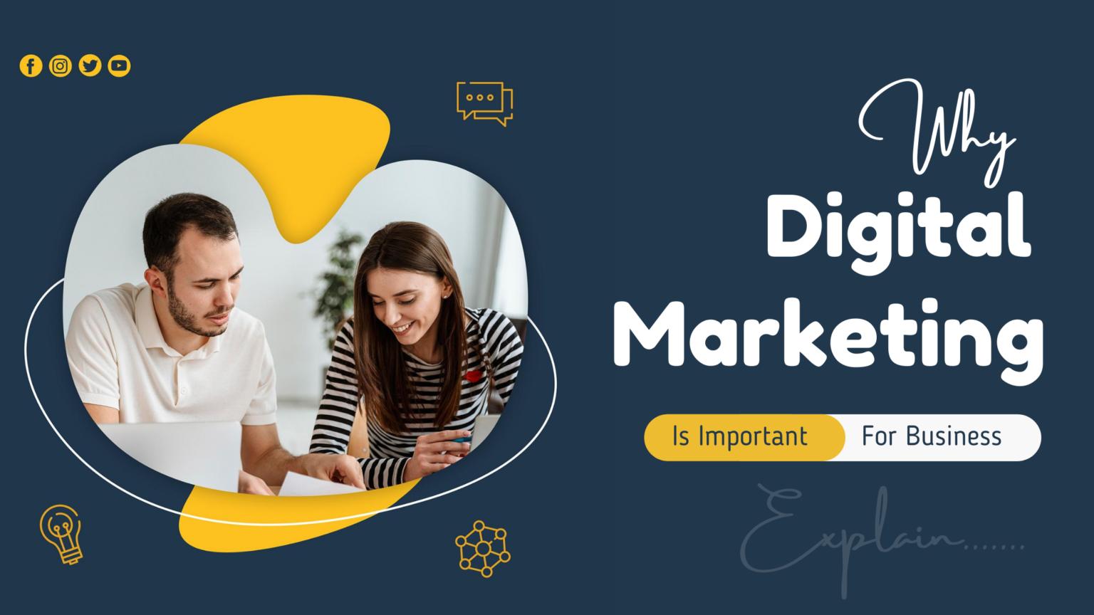 لماذا التسويق الرقمي مهم للأعمال (شرح كامل)